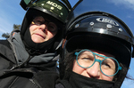Motorschlittenfahrt in Lappland @ Rena Hackl fotografiert 2018