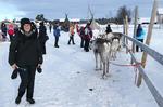 Zu Besuch bei Rentieren in Lappland @ Rena Hackl fotografiert 2018