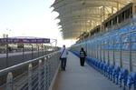 Zuschauertribüne Formel I   Bahrain @ Rena Hackl fotografiert 2017