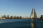 Blick auf das Moderne Manama Bahrain @ Rena Hackl fotografiert 2017