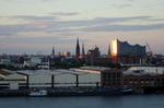 Blick auf Hamburg Elbphilharmonie @ Rena Hackl fotografiert 2017