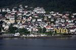 Einfahrt Bergen Norwegen @ Rena Hackl fotografiert 2017