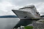 MSC Preziosa im Hafen von Tromsø @ Rena Hackl fotografiert 2017
